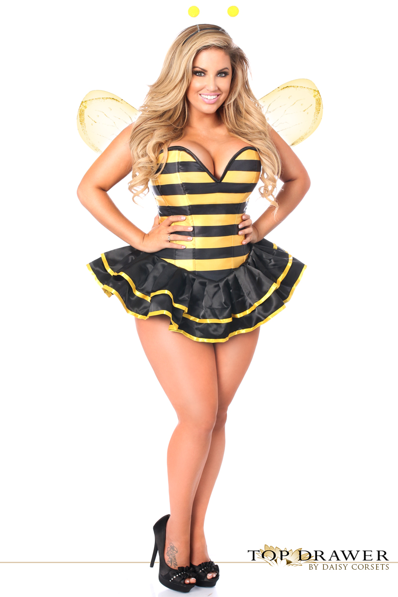 Daisy TD-924 Top Drawer Premium Queen Bee Corset Costume  sc 1 st  Sincity Playwear & Shop for Daisy TD-924 Top Drawer Premium Queen Bee Corset Costume