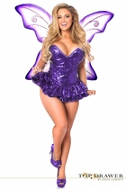 Daisy TD-927 Top Drawer Sequin Fairy Corset Dress Costume