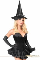 Daisy TD-933 Top Drawer Witch Corset Costume