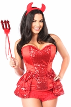Daisy TD-982 5 PC Red Hot Devil Costume