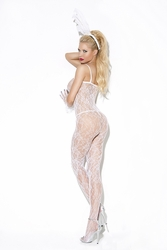 Elegant Moments 8596 Floral Lace Bodystocking