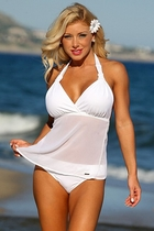 Ujena Sexy Honeymoon Lovers Beach Tankini Bathing Suit