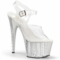 Pleaser Adore-708VLRS Ankle Strap Sandal
