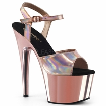 Pleaser Adore-709HGCH Ankle Strap Sandal