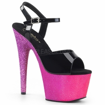 Pleaser Adore-709Ombre Ankle Strap Sandal