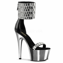 Pleaser Adore-789RS Wide Ankle Cuff Sandal