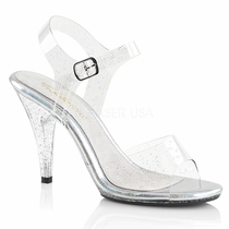 Pleaser Caress-408MMG Ankle Strap Sandal