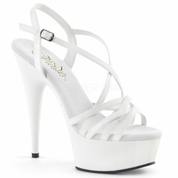 Pleaser Delight-613 Ankle Strap Sandal