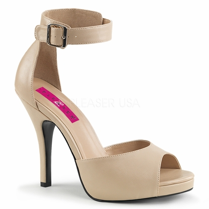 Pleaser Eve-02 Ankle Strap Sandal