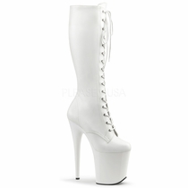 Pleaser Flamingo-2023 Knee High Boots