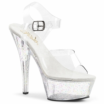 Pleaser Kiss-208MG Ankle Strap Sandal