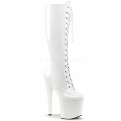 c2a96c0a7b9c Pleaser Taboo-2023 Lace Up Knee High Boot