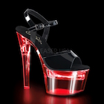 LED Light-Up Exotic Dancer Shoes/Boots