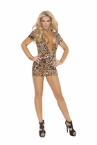 Elegant Moments 8292 Super Plunge Club Dress