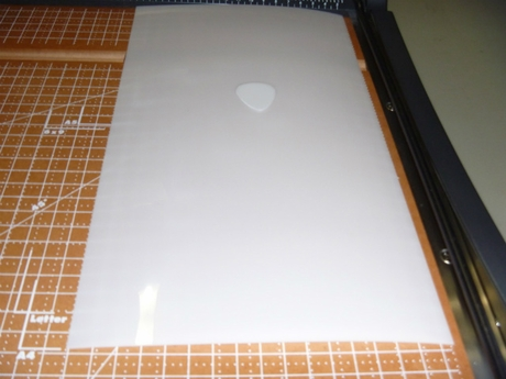 0.65mm White Acetal Delrin Sheet