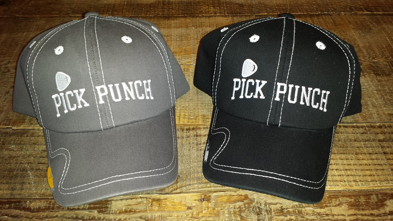 Pick Punch Twill Guitar Pick Holder Hat