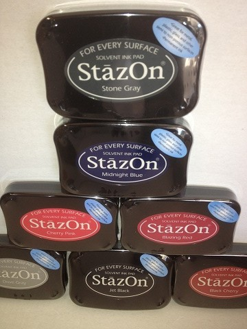 Stazon Solvent Ink for plastics