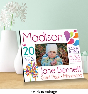 Baby Announcement Picture Frames - click to enlarge