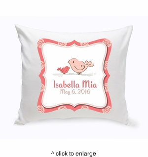 Baby Nursery Throw Pillow - click to enlarge