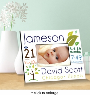 Personalized Baby Picture Frames - click to enlarge