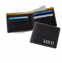 Black Leatherette Wallet
