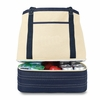 Personalized Cotton Insulated Tote and Cooler - click to enlarge