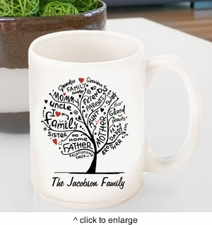Family Roots Coffee Mug - click to enlarge