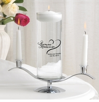 Happily Ever After Floating Unity Candle Set (HEA)