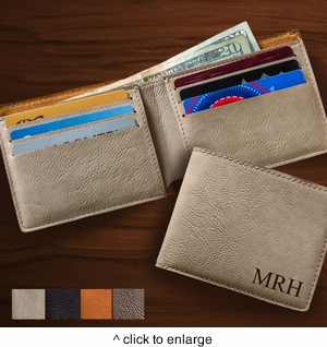 Leatherette Wallet - click to enlarge