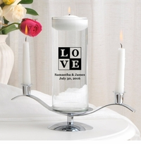 Love Floating Unity Candle Set (T18)