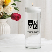 Love Floating Unity Candle (T18)