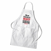 Men's Grilling White Apron - click to enlarge