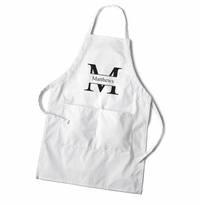 Men's White Apron