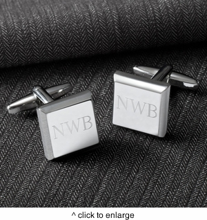 Modern Square Cufflinks - click to enlarge