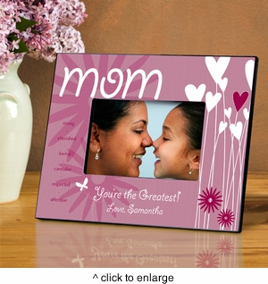 Personalized Picture Frames For Mom Personalized Picture Frames