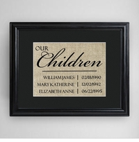 Our Children Framed Print