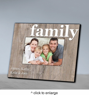 Our Family Picture Frame-Family - click to enlarge