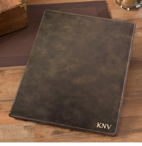 Personalize Rustic Portfolio With Notepad