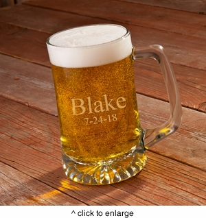 Personalized  25 oz. Sports Mug - click to enlarge