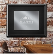 Personalized Bar Mirror