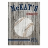 Personalized Baseball Canvas Print  - click to enlarge