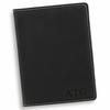 Personalized Black Passport Holder - click to enlarge