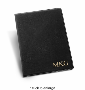 Personalized Black Portfolio - click to enlarge