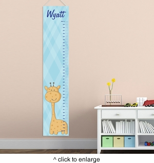 Personalized Boys Growth Charts - click to enlarge