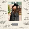 Personalized Celebrations Graduation Signature Frame - click to enlarge