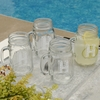 Personalized Classic Jar Glass Set  - click to enlarge