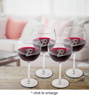 Personalized Connoisseur Red Wine Set - click to enlarge
