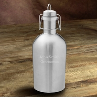 Personalized Double Wall Insulated Stainless Steel Beer Growler