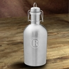 Personalized Insulated Stainless Steel Beer Growler - click to enlarge