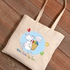 Personalized Easter Canvas Bags - Easter Eggs - click to enlarge
